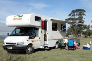 Early Bird Discount - 5% off for Apollo Campervan
