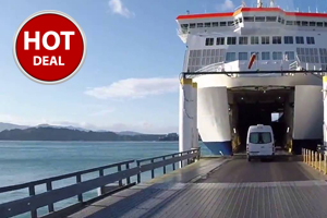 SAVE BIG on One Way Ferry Booking