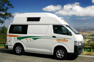 3 Berth - Motorhomes, Campervan Hire or Rental