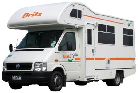 Britz Campervan Hire