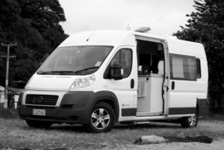 Jumper Campervan WD - RETURN HIRES AKL & CHC