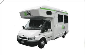 Kiwi Motorhome for Hire