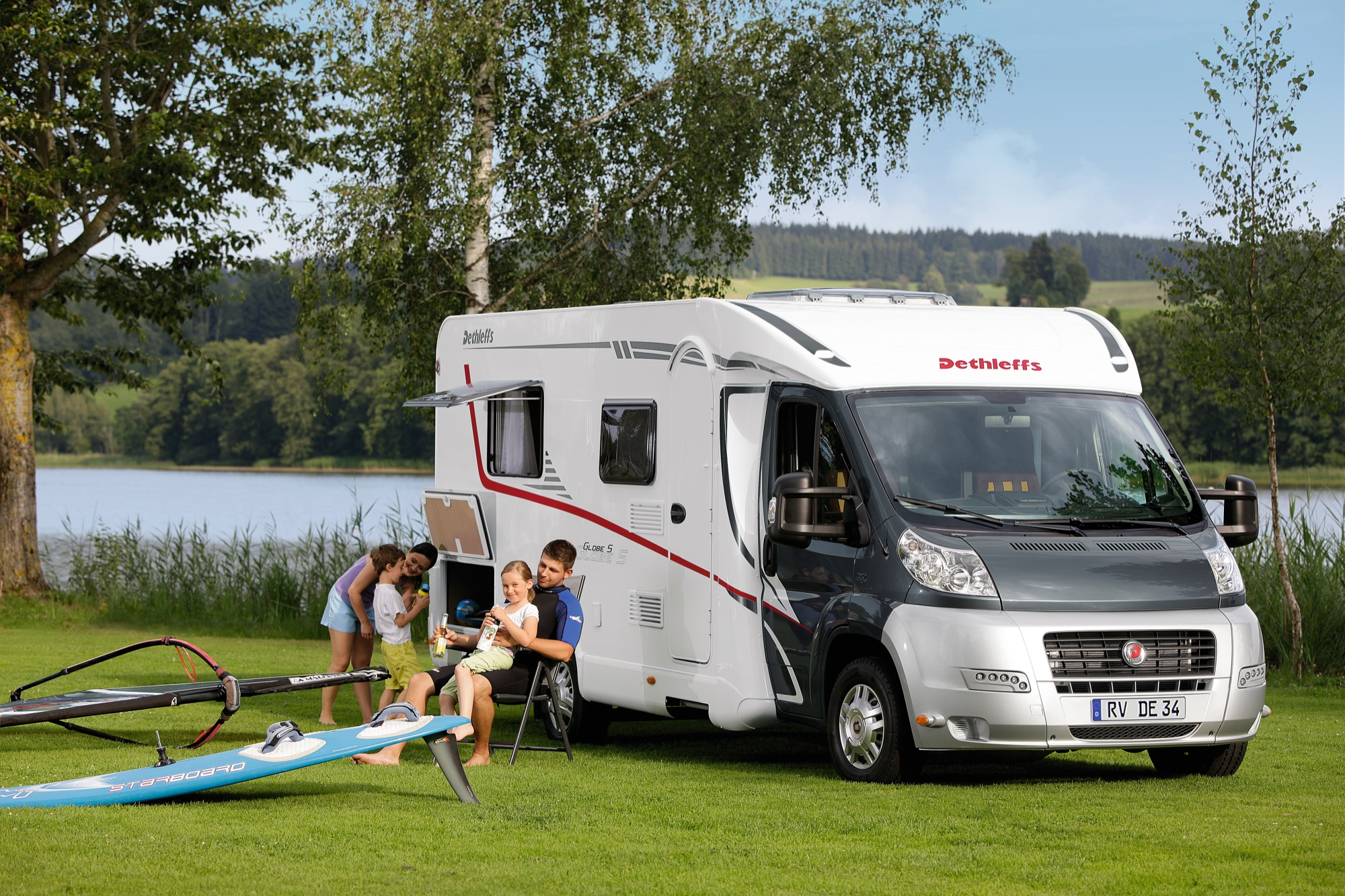 Dethleffs Camper  - Campervan Rental New Zealand