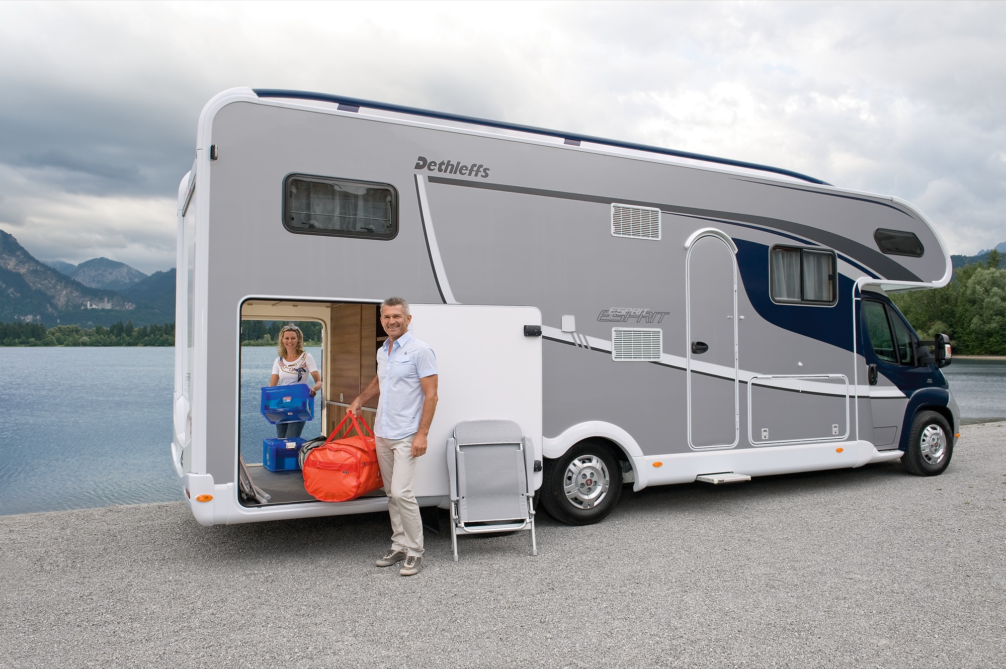 Cool  RV European  Migrateur And Magister Fleurette Campers And Motorhomes