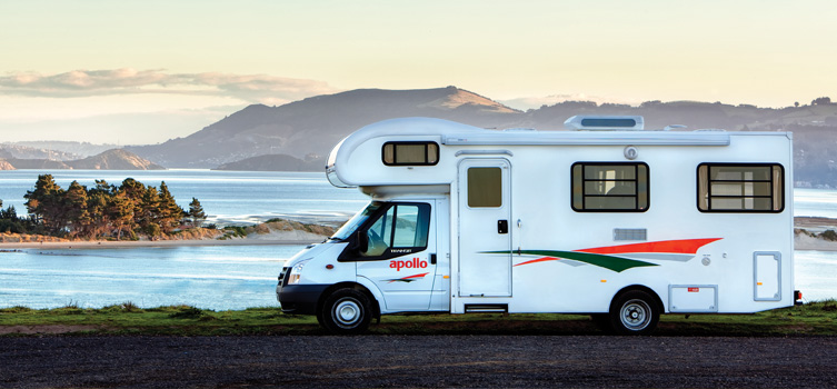 Apollo camper - Motorhomes Rental New Zealand