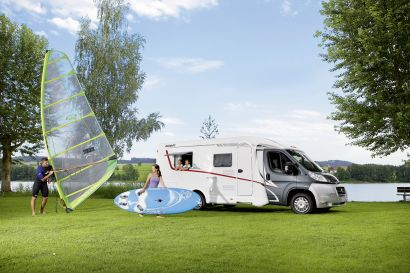 Dethleffs Camper  - Motorhome Hire New Zealand