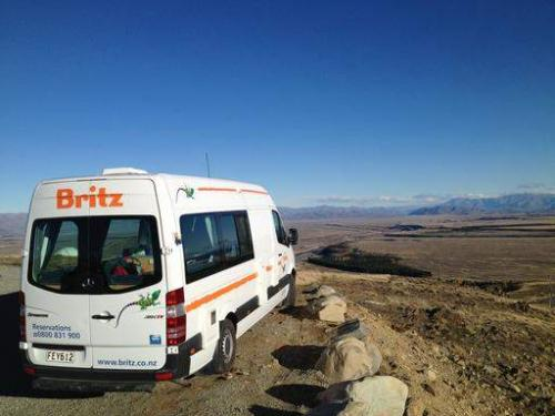 Britz Campervans & Motorhomes New Zealand