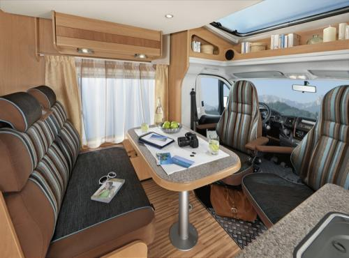 Dethleffs Motorhomes - Hire Motor Homes