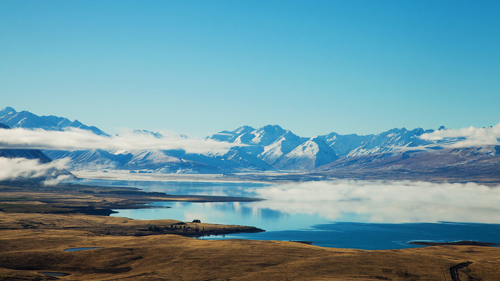 Budget Campervan Rental NZ - Lake Tekapo