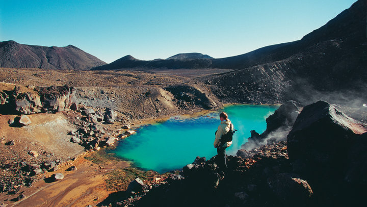 Tongariro National Park North Island