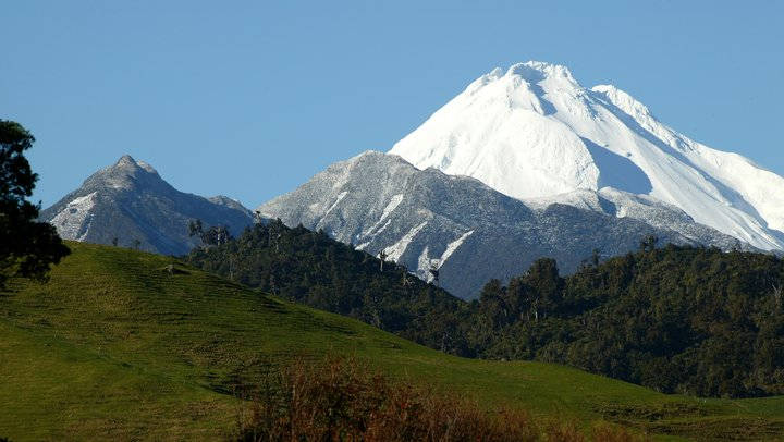 Egmont National Park Taranaki taking Campervan Hire trips in New Zealand
