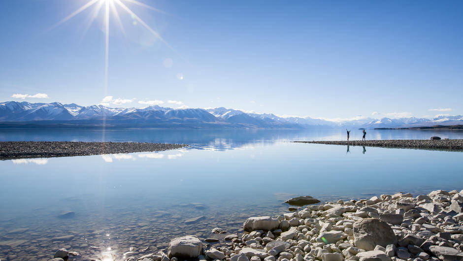 Lake Pukaki - Campervan Hire New Zealand