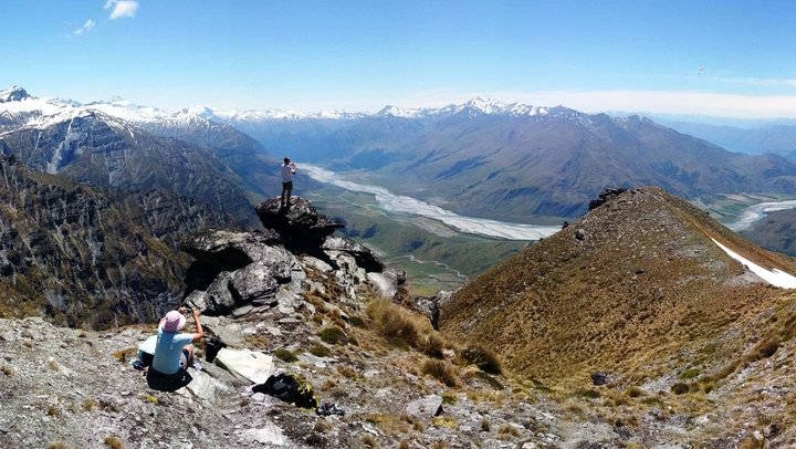 New Zealand Motorhome for Rent Holiday - Mountains Heli Hike