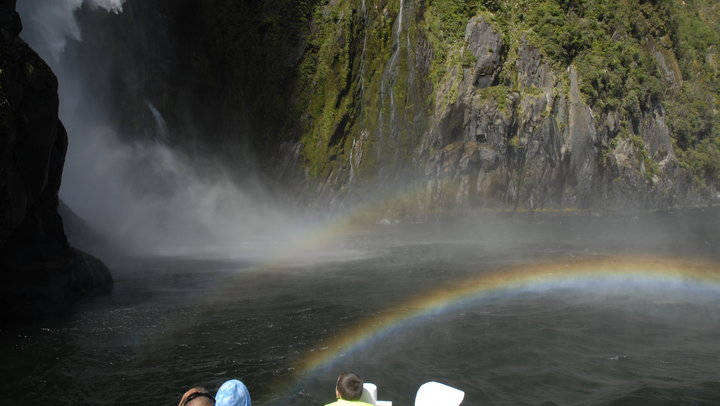 New Zealand Campervan Holidays - Rainbow Falls