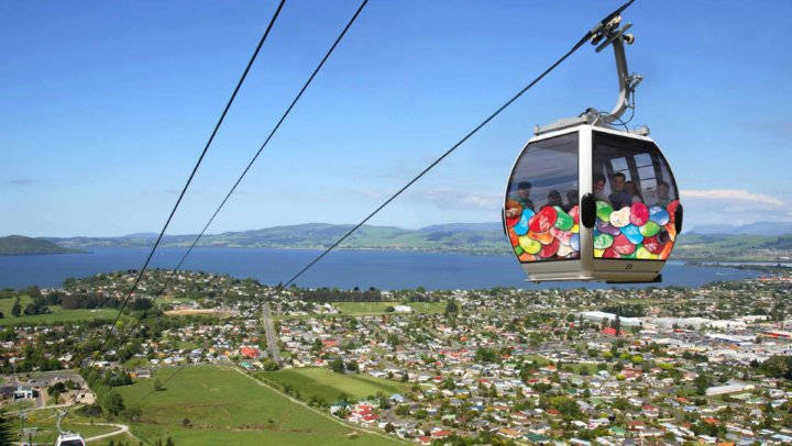Skyline Rotorua Gondola - New Zealand Motorhome Hire in Queenstown