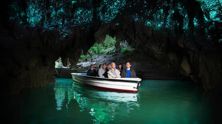 Motorhome Hire New Zealand - Waitomo Glowworm Caves