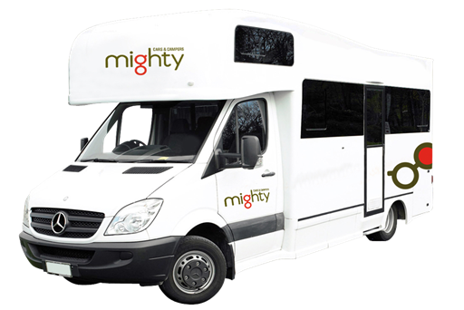 Mighty Big Six - 6 Berth Campervan Hire in New Zealand