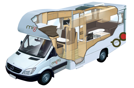 Mighty Big Six - 6 Berth Campervan Hire