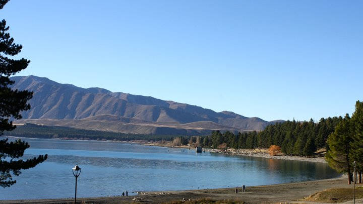 Campervan Rental New Zealand - Lake Tekapo