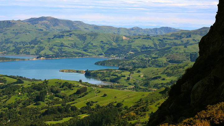 Motorhomes Hire Christchurch - Akaroa Harbour