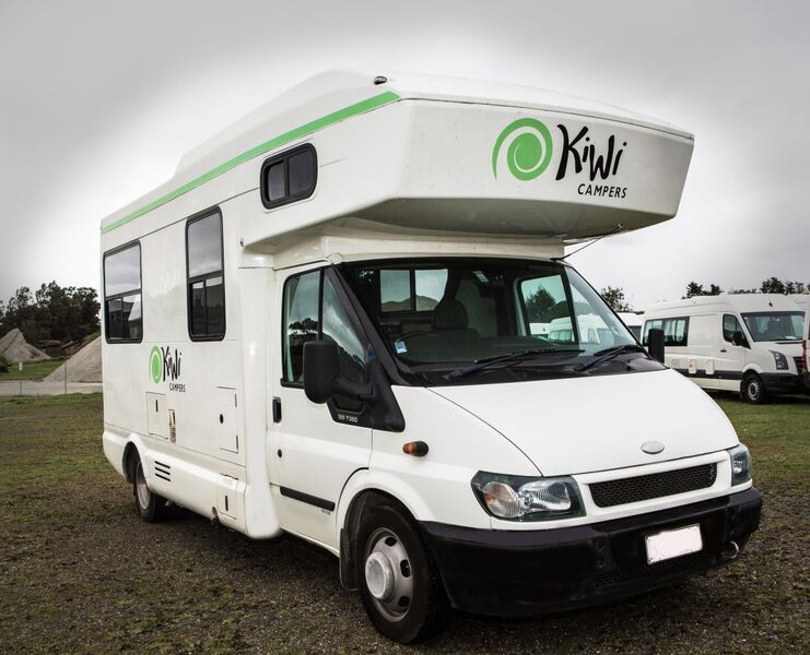 Kiwi Campers Rental New Zealand