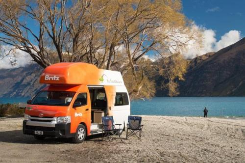 Acacia RentACampervan New Zealand - Britz Campervan Rental New Zealand
