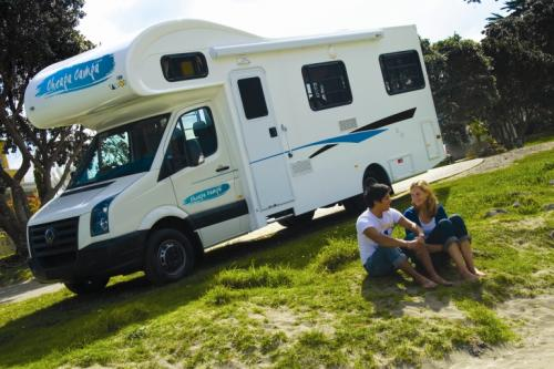 Acacia RentACampervan New Zealand - Cheapa Campa Motorhome Rental New Zealand