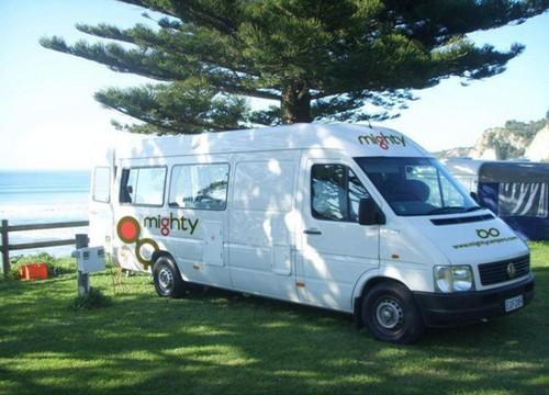 Acacia RentACampervan New Zealand - Mighty Motorhome Rentals New Zealand