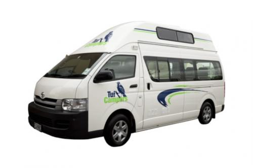 Acacia RentACampervan New Zealand - Tui Campers Rental New Zealand