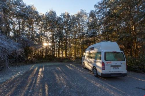 Acacia RentACampervan New Zealand - Apollo Campervan Hire in New Zealand