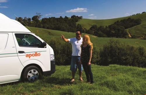 Acacia RentACampervan New Zealand - Apollo Campervan Hire New Zealand