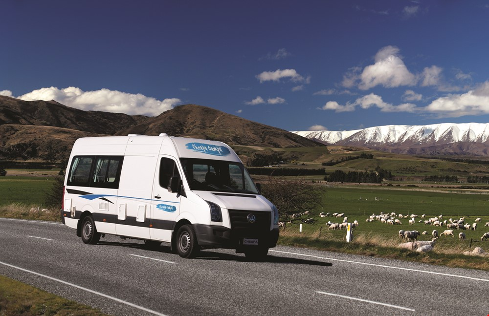 Acacia RentACampervan - Cheapa Campa Campervan Rentals in New Zealand