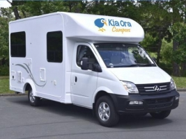 4 berth Breeze with Shower/Toilet - Auto (Kia Ora Campers)