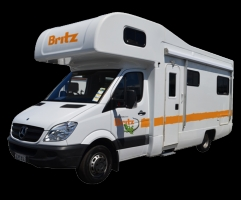 6 Berth Frontier with Shower/Toilet - Auto (Britz) (6BB)