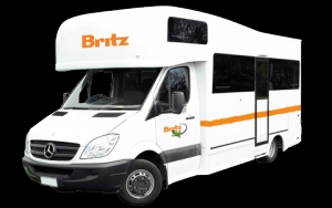 4 Berth Outbounder with S/T - Auto (Britz) (4BTS)