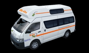 2/3 Berth Hitop with Toilet only - Auto (Britz) (2BB)