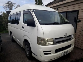 2 Berth Toyota Hi-Ace with Toilet only - Auto (Sweet As Campers)