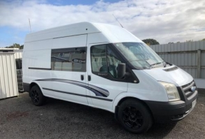 3 Berth Ford Transit with Toilet Only - Manual (Sweet As Campers)