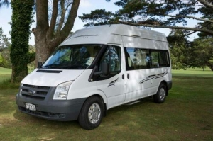 2 Berth Kea Freedom Ford Transit with Shower/Toilet - Manual (Kia Ora Campers)