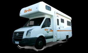 6 Berth Vista with Shower/Toilet - Auto (Britz) (6BTSP)