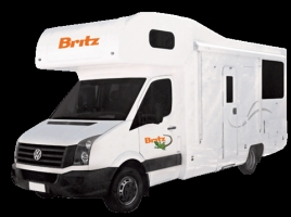 4 Berth Explorer with Shower/Toilet - Auto (Britz) (4BB)