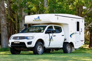 4 Berth Bush Camper without Shower/Toilet - Auto (Tui)