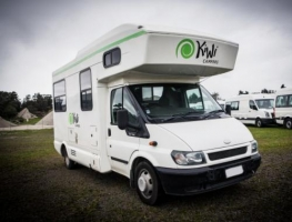 4 Berth Kea with Shower/Toilet - Manual (Happy)
