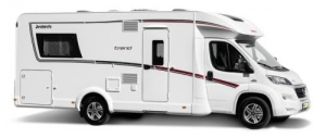 2 Berth Comfort Standard with Shower/Toilet - Auto (Mcrent)