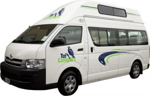 4+1 Berth Hitop Family Trail Finder with Toilet Only - Auto (Tui)