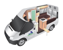2 Berth Deluxe Trail Seeker with Shower/Toilet - Manual (Tui)