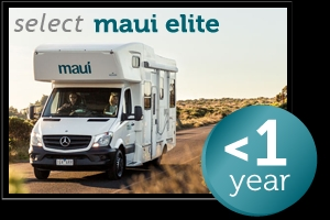 6 Berth Platinum River Elite with Shower/Toilet - Auto (Maui) (6BMPCE)